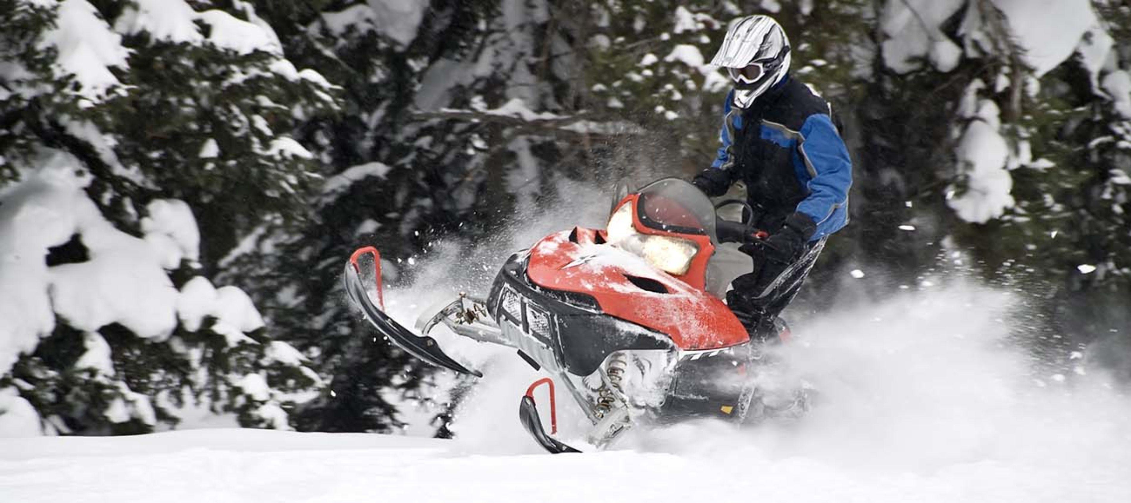 Snowmobile Aspen Snowmass Maroon Bells