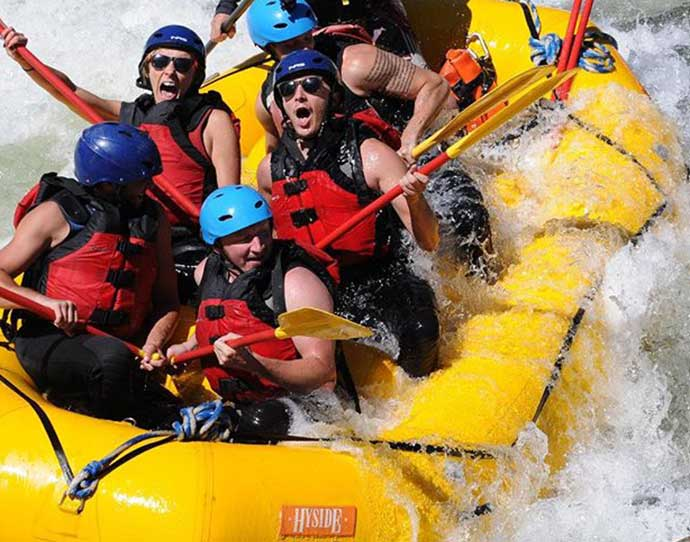 White water rafting in Snowmass, Colorado