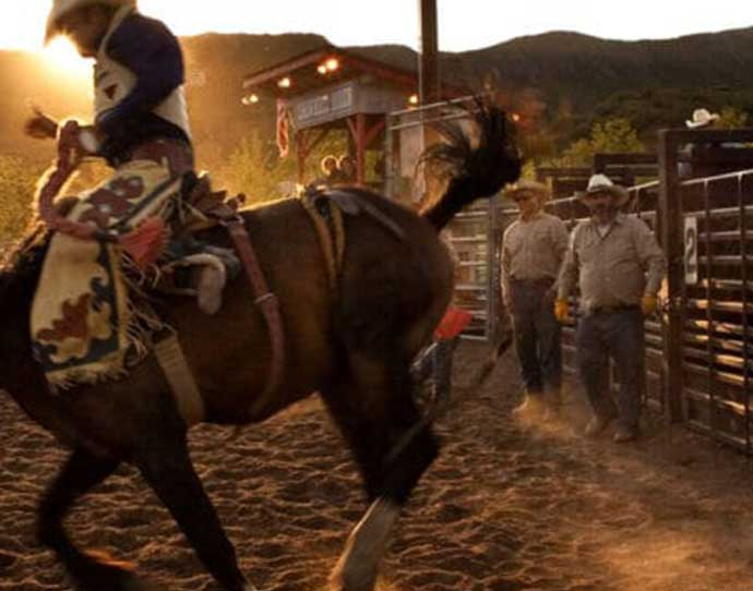 Summer Rodeo in Snowmass, Colorado