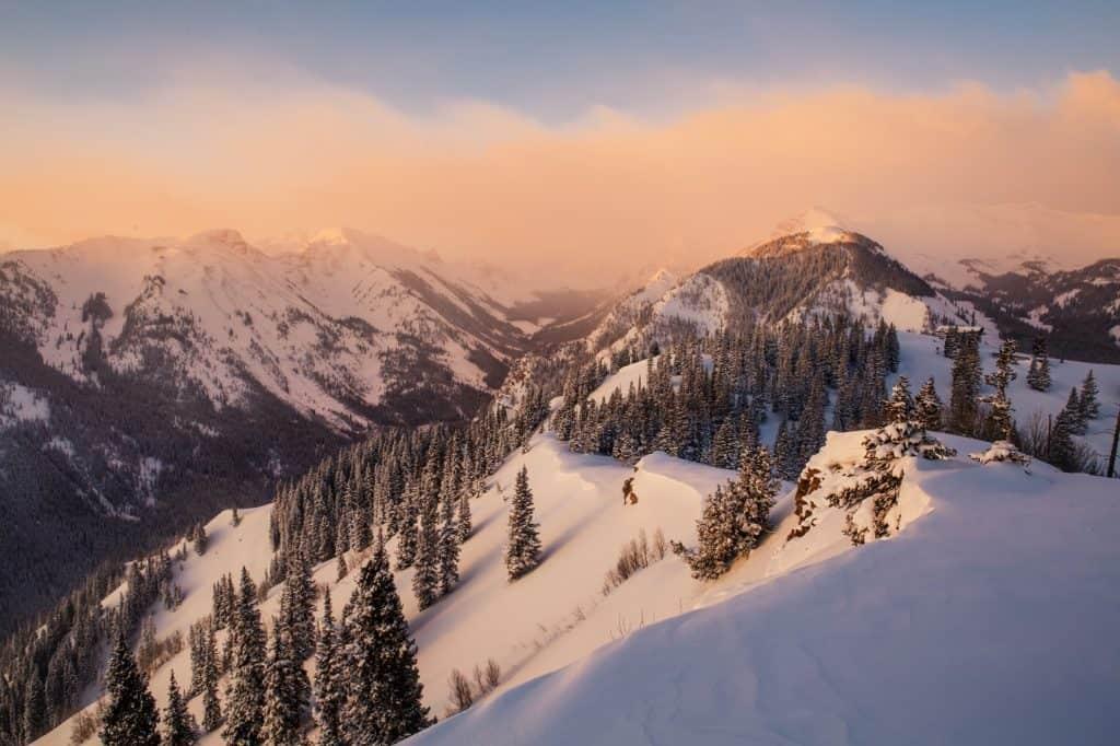 Snowmass Winter Snow