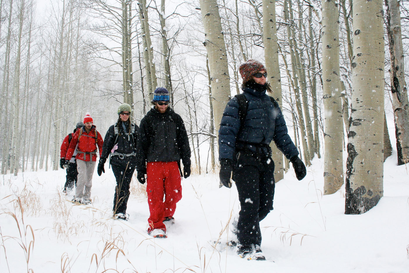 Snowshoe in Snowmass Winter